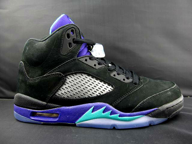buy popular 8d84a 97331 Air Jordan Retro V 5 Black Grape (2)