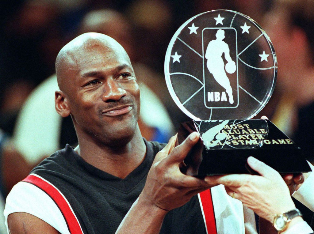 #2350 // 50 Classic Michael Jordan All-Star Game Photos (45)