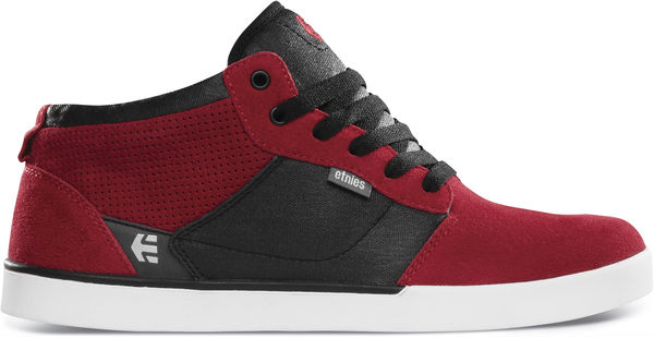 etnies Jefferson Mid Spring 2013 Red Black