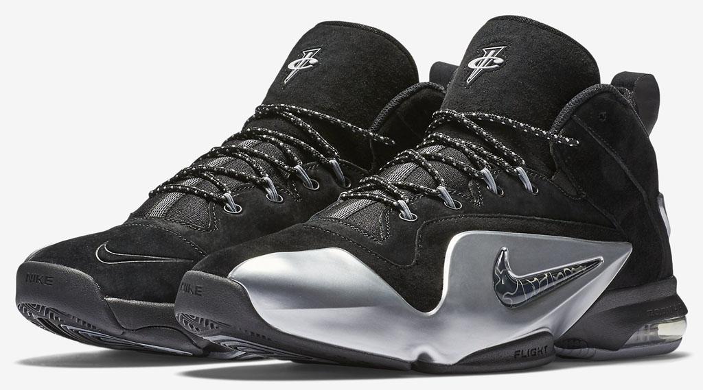 new style 3467e 05a9e Nike Zoom Penny 6 BlackSilver 749629-002 (1)