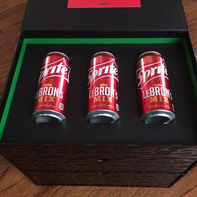 475f1637b0f Nike LeBron XII 12 Sprite LeBron s Mix Pack (3)