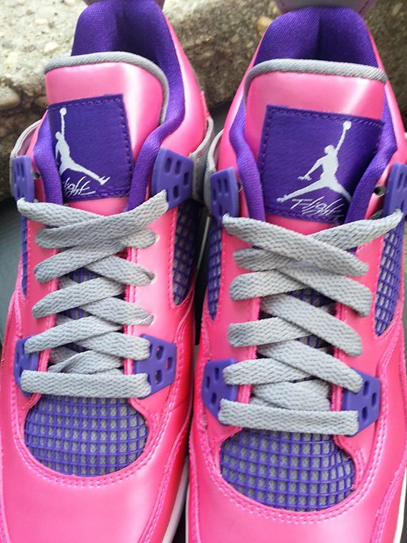 quality design a78db ed816 Air Jordan 4 Retro GS - Pink Flash