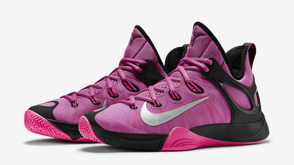 the latest afecd fb6ef Support Breast Cancer Awareness with this all-new Nike Zoom HyperRev 2015.