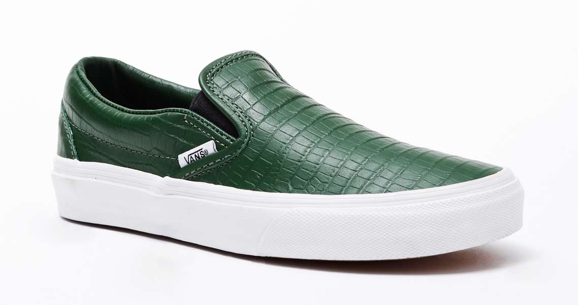 40dd1cc6618 Cheap green slip ons Buy Online  OFF54% Discounted