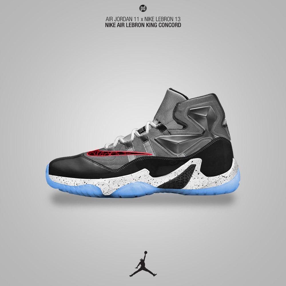 Air Jordan 11 x Nike LeBron 13