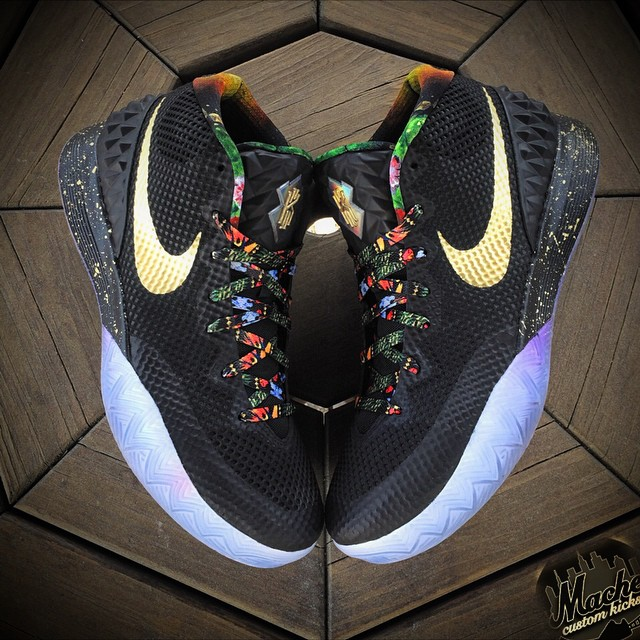 Nike Kyrie 1 'Watch the Throne' by Mache
