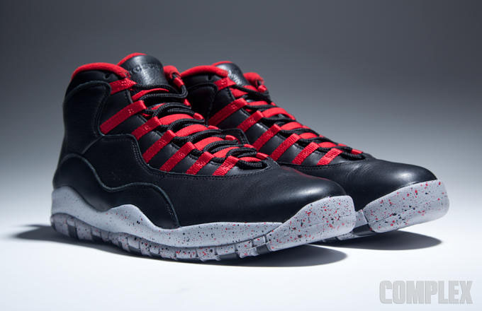 Air Jordan X 10 Public School Black (2)