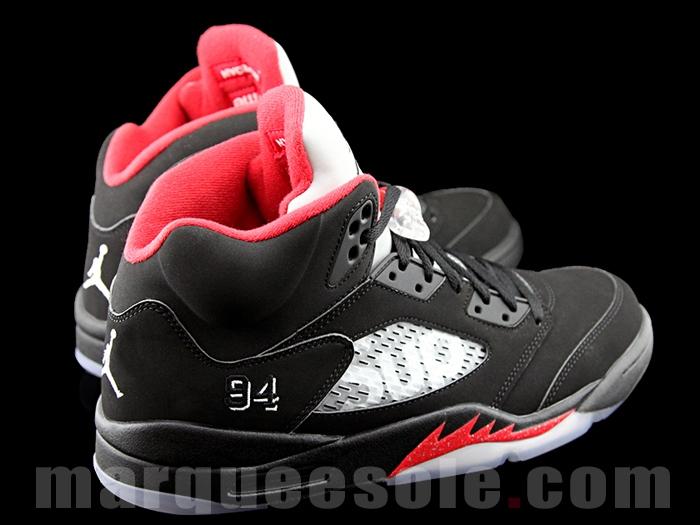 Fresh Shots of the Upcoming  Black  Supreme x Air Jordan 5  25c998e5b9