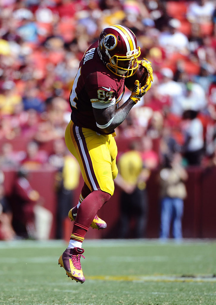 Niles Paul wearing Under Armour Nitro Mid