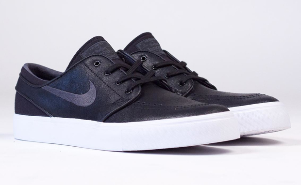 Nike Janoski Black Leather