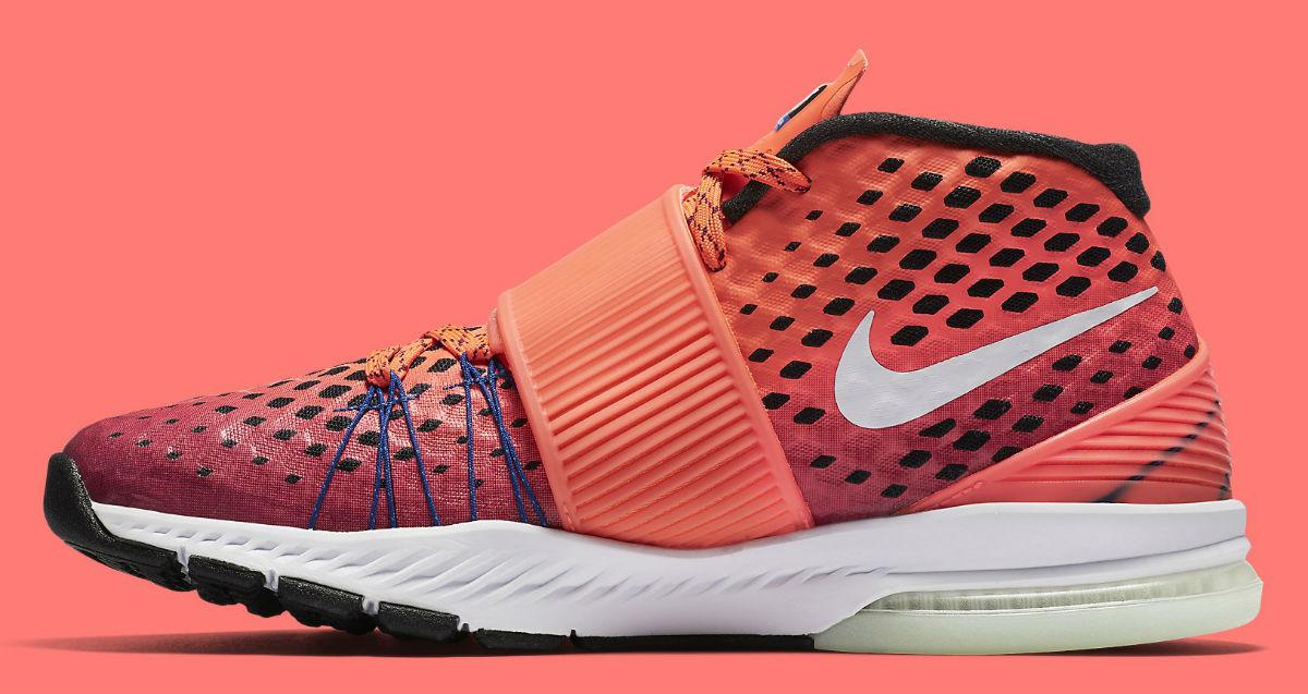 Nike Zoom Train Toranada Gronk Red Medial 848507-600