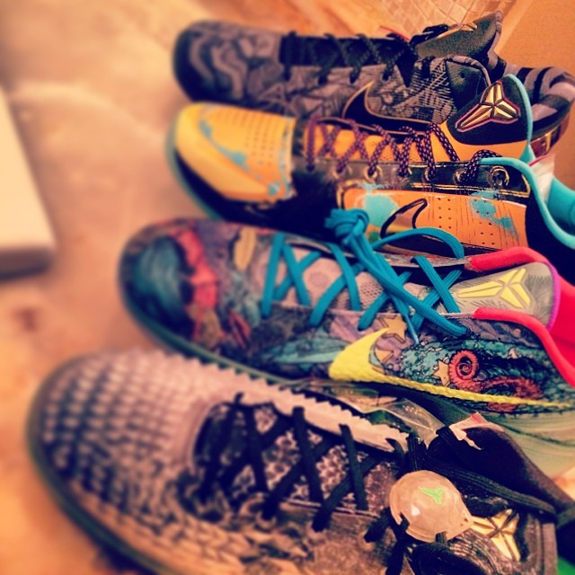 Demarcus Cousins Picks Up Nike Kobes