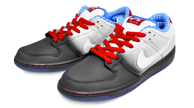 Yellow Brick Road in These Dunks