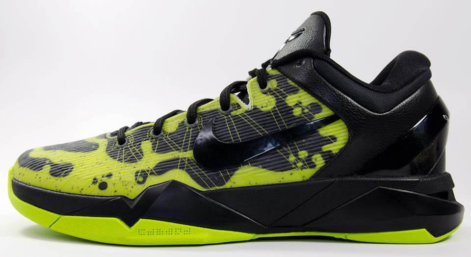 quality design 96103 0768e Nike Kobe VII System NIKEiD Poison Dart Frog (2)