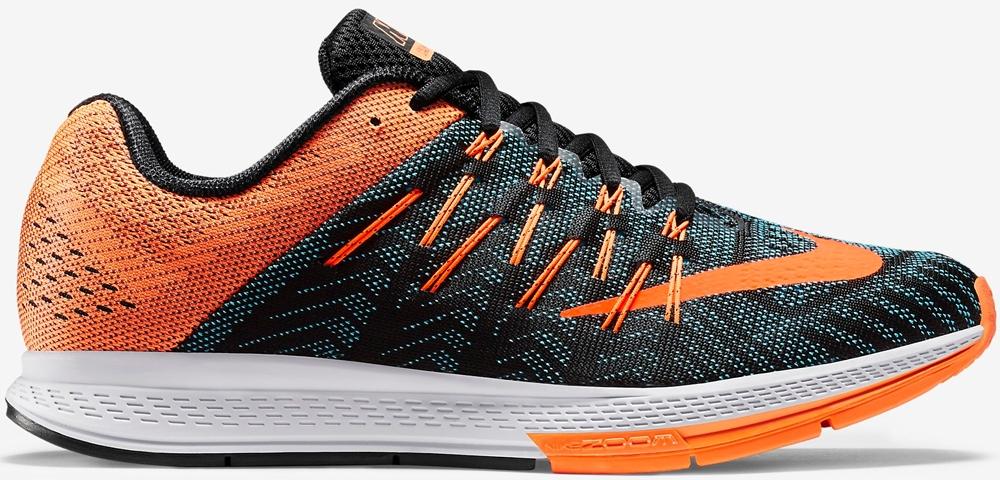 Nike Air Zoom Elite 8 Black/Bright Citrus-Blue Lagoon-Total Orange