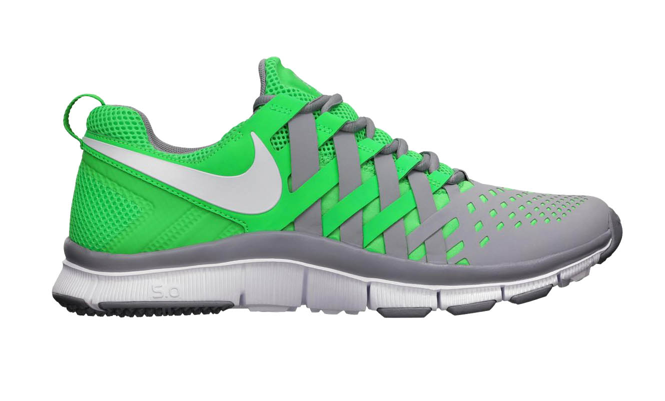 nike free trainer 5 0 poison green stadium grey sole collector. Black Bedroom Furniture Sets. Home Design Ideas