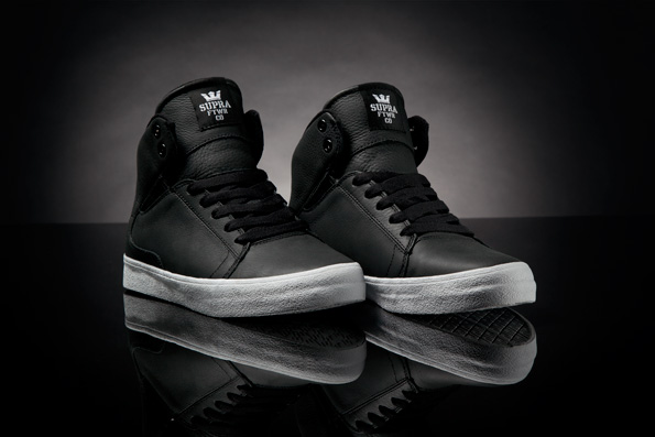 SUPRA Society - Black Full Grain