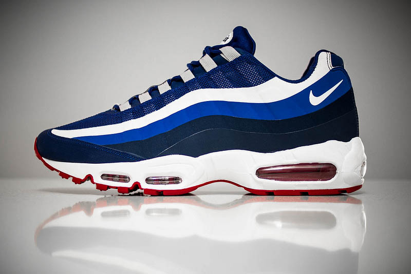 Nike Air Max 95 No-Sew - New York Giants | Sole Collector