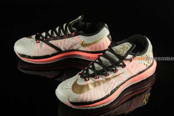 online retailer 5e1c3 36eab Stay tuned to Sole Collector for further details on the White Gold-Mango Nike  KD VI Elite.