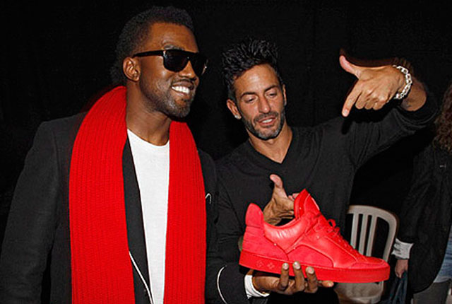 29d2acb0126b The 10 Best Partnerships Between Rappers and Sneaker Companies - Kanye West  x Louis Vuitton