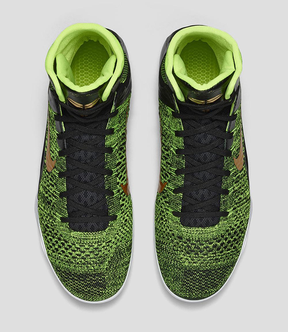 148d66cf0015 10 23 14 Nike Kobe 9 Elite 630847-077 Black Volt-Anthracite-Gold  225.00