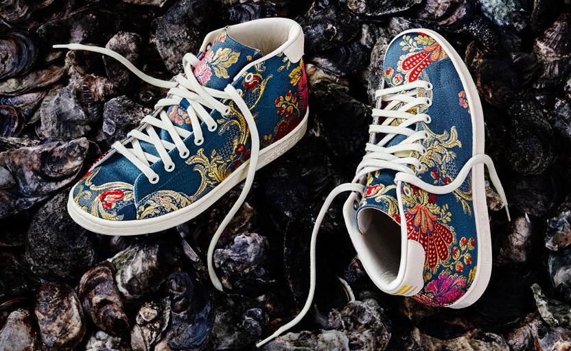 Pharrell Adidas Jacquard Floral Pack 2 Stan Smith