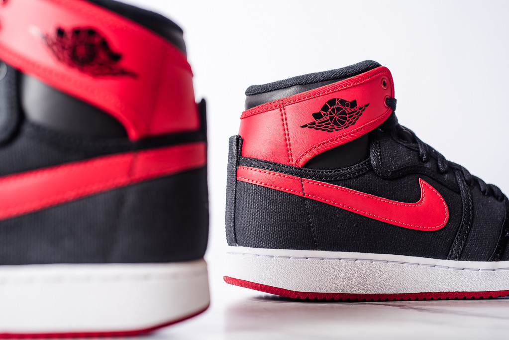 new styles 4231d 5f35c See How the  Bred  Air Jordan 1 KO Looks On-Feet