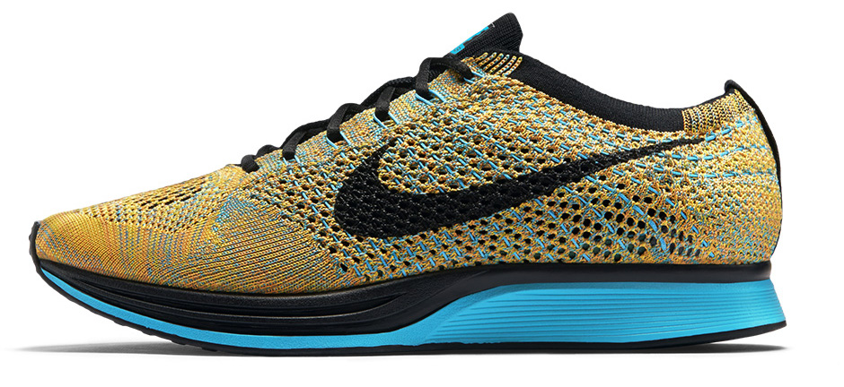 reputable site 023cc a126d ... reduced cool down in sherbet flavored nike flyknit racers 7f5ab c7bbc