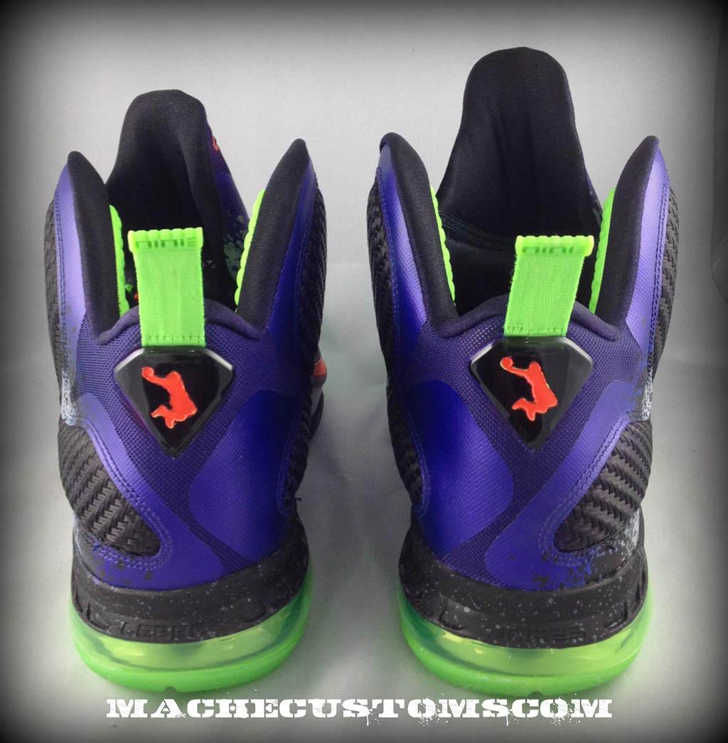 online retailer c3879 b1ac3 Nike LeBron 9 Un NERF by Mache Custom Kicks (4)