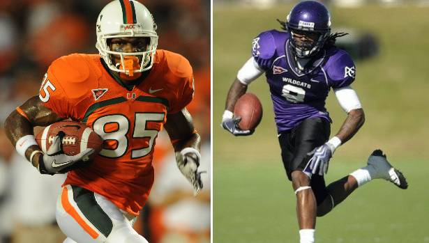 adidas Signs NFL Rookie Receivers Leonard Hankerson and Edmond Gates