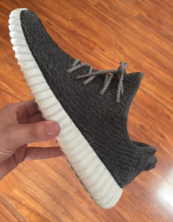 Adidas Yeezy 350 Black And White