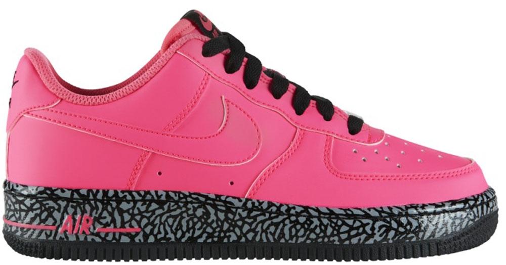 Nike Air Force 1 Low GS Hyper Pink/Hyper Pink-Black