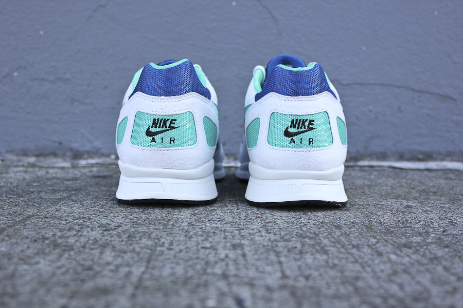 The Storm Blue New Green Summit White Nike Air Flow is available now at  select Nike retailers 60eadbf73