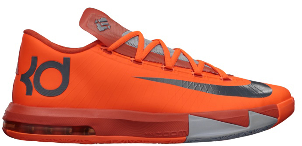 eafad22d8c90 Nike KD VI  NYC 66  599424-800 Total Orange Armory Slate-Team Orange-Armory  Blue