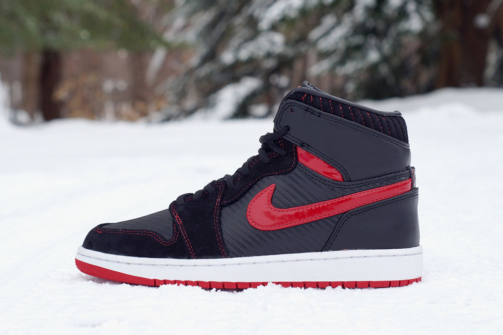 Air Jordan 1 Carbon Fiber, Suede & Patent Leather by JBF Customs (1)