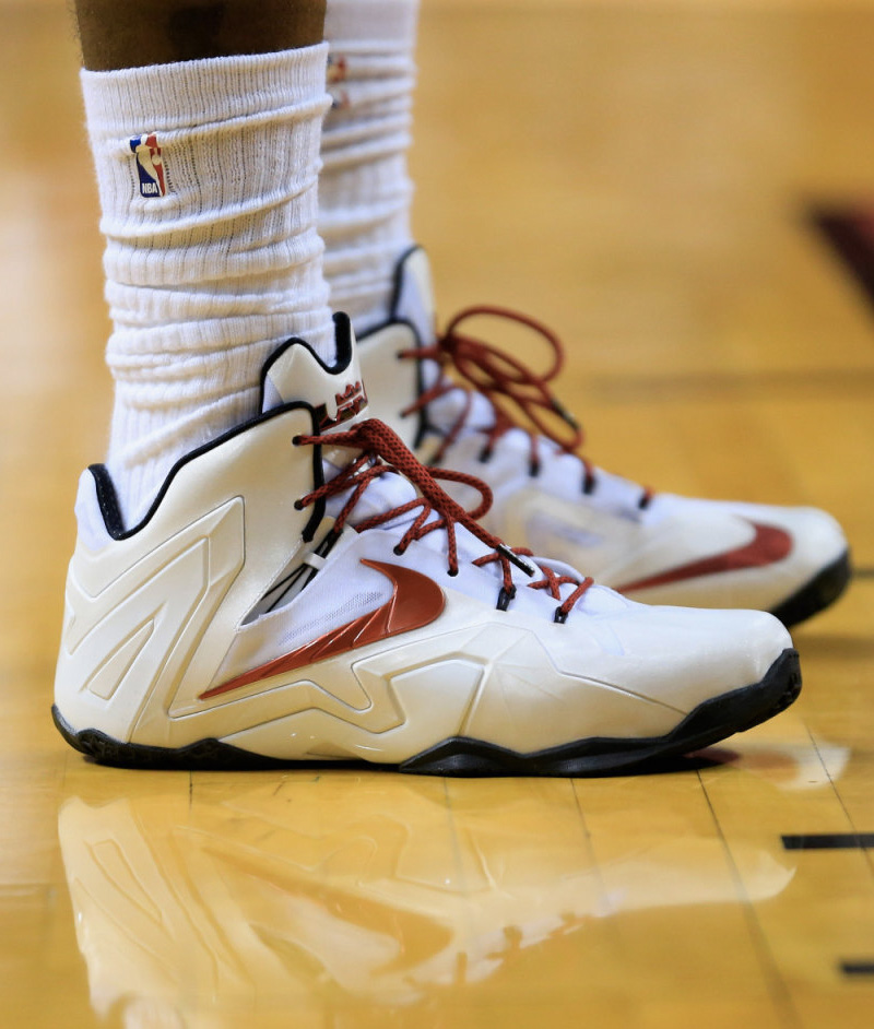 new arrival a6da9 5c4d8 All Of The Times LeBron James Wore The Nike LeBron 11 This ...