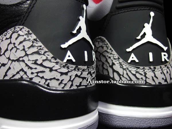 f1674cf228e0fe Air Jordan Retro 3 - Black Varsity Red-Cement Grey - New Images ...