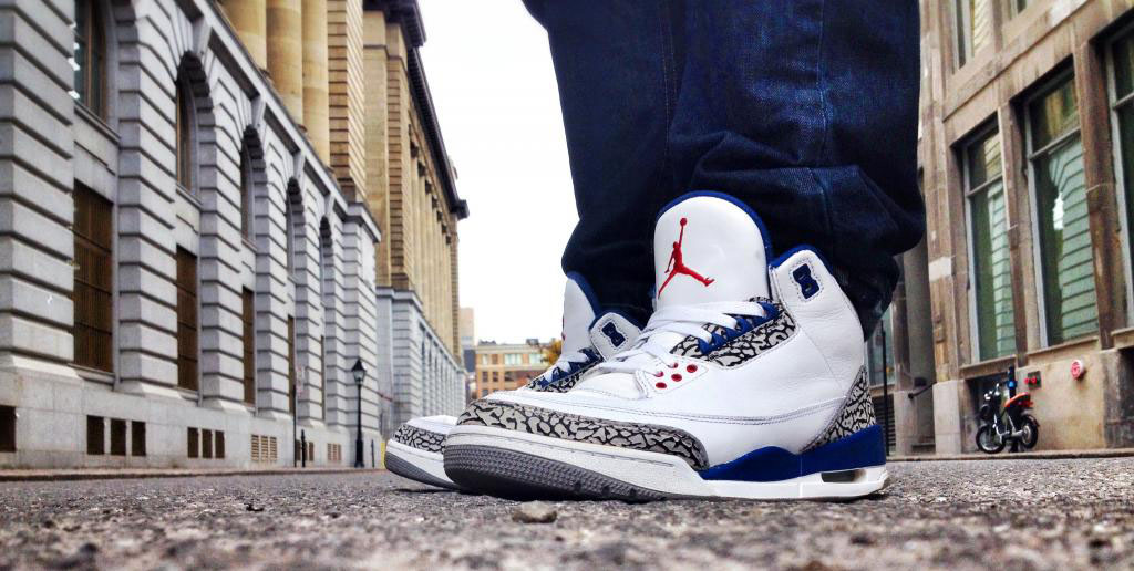 Spotlight // Forum Staff Weekly WDYWT? - 11.16.13 - Air Jordan 3 III Retro True Blue by Shooter