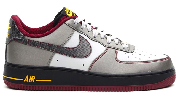 nike air force 1 low dusty grey metallic pewter cherrywood profile