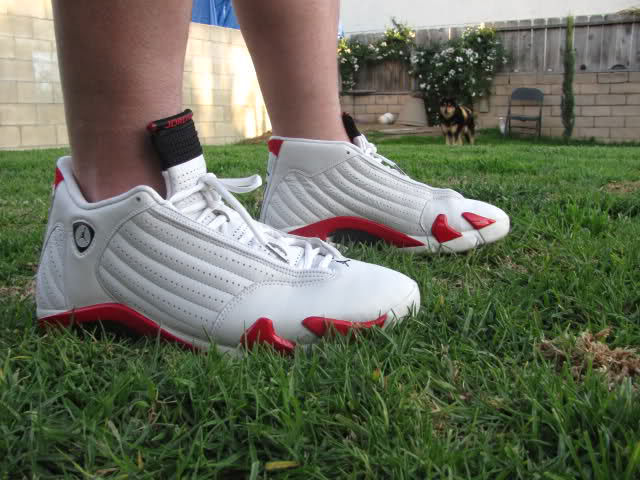 Spotlight // Forum Staff Weekly WDYWT? - 8.17.13 - Air Jordan XIV White/Red by RICK JAMES