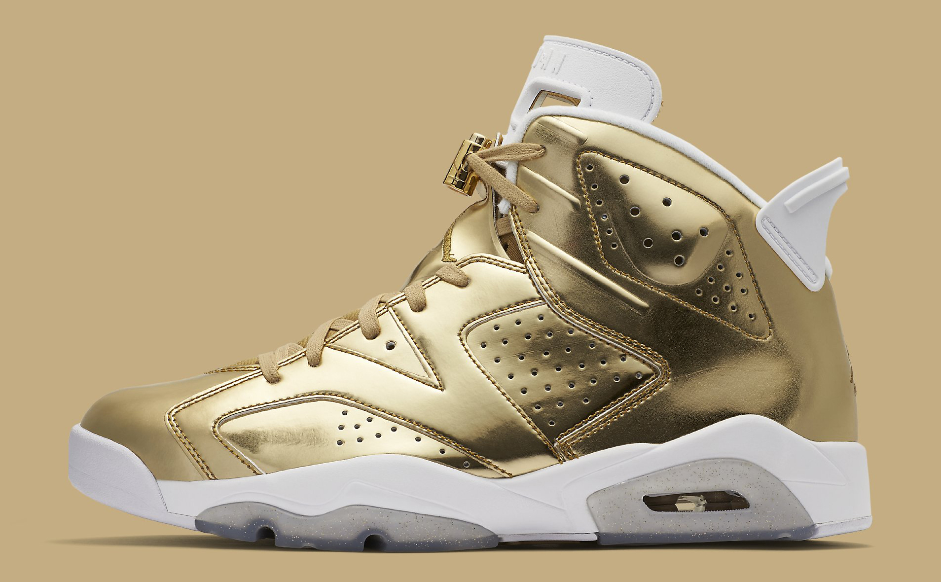 Gold Pinnacle Air Jordan 6 854271-730 Profile