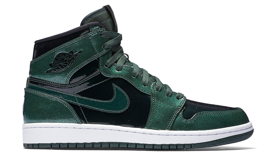 Air Jordan 1 Retro High Green Grove Patent Sole Collector Release Date Roundup