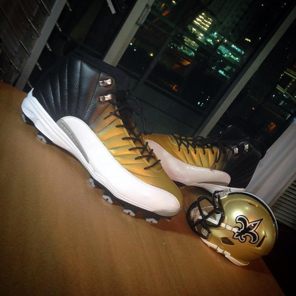 Air Jordan XII 12 Saints for Jonathan Goodwin by Soles by Sir (1)