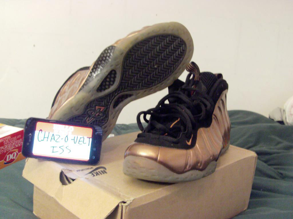 Spotlight // Pickups of the Week 7.7.13 - Nike Air Foamposite One Copper by Chaz-O-Velt