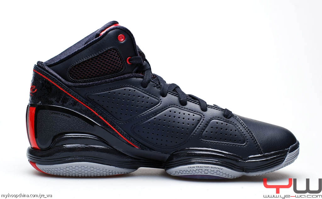 sports shoes f163b 54734 adidas adiZero Rose 1.5 Black Red Aluminum