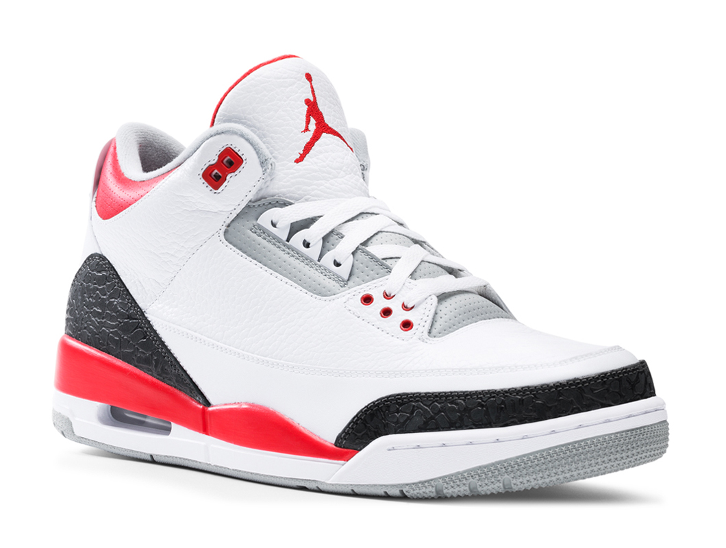 air jordan 3 retro fire red official images sole collector. Black Bedroom Furniture Sets. Home Design Ideas