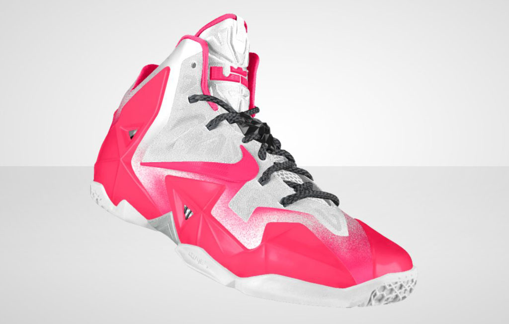 NIKEiD LeBron 11 'Forging Iron' Option (5)