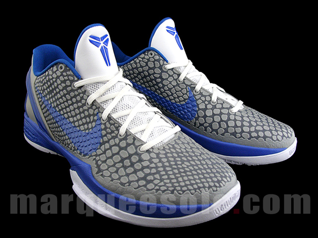 4063676cbfc5 First Look  Nike Zoom Kobe VI - Medium Grey Varsity Royal-White ...