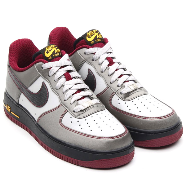 nike air force 1 low dusty grey metallic pewter cherrywood october