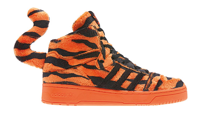 1a0a22832 ... features a plush tiger fur upper, matching orange midsole and outsole,  and a three-dimensional tail. According to Hannon, these launch is Saturday.
